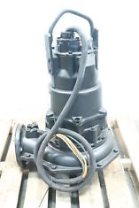 Heavy duty submersible pump for emergency flooding